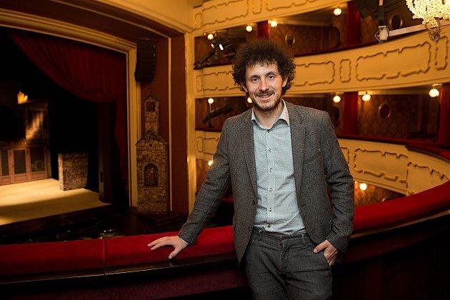 Ředitel Moravského divadlo Olomouc David Gerneš.