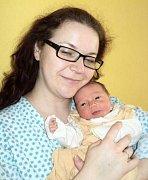 Stella Nováková, Šternberk, narozena 5. září ve Šternberku, míra 47 cm, váha 3100 g.