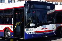 Autobusy olomoucké MHD. Ilustrační foto