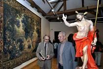 Ředitel olomouckého Muzea umění Pavel Zatloukal (vlevo) a Milan Togner, autor koncepce výstavy Olomoucké baroko/Výtvarná kultura let 1620–1780