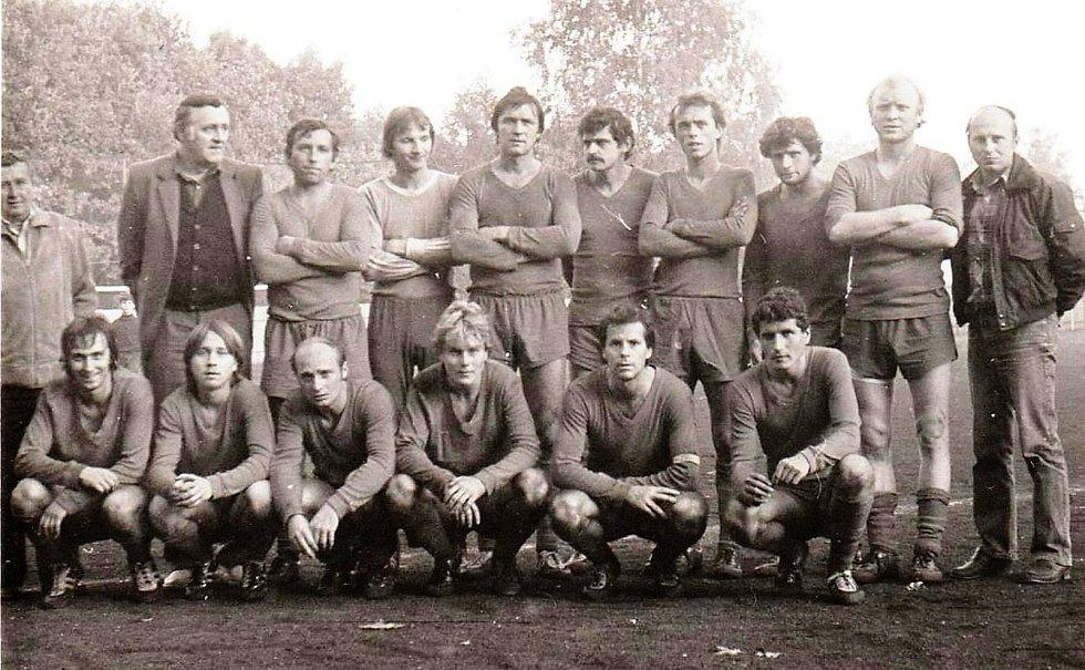 Družstvo Litovle ze září 1983
