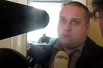 Policista Pavel Grofek po verdiktu soudu.