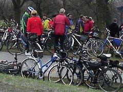 Start cyklistické sezony v Hačkách u Konice