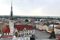 Horním náměstí v Olomouci