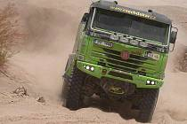 Kamion Marka Spáčila na Rally Dakar 2010