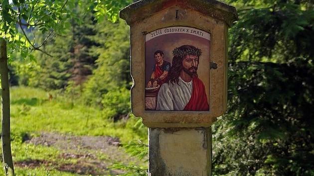 Zastavení střítežské křížové cesty