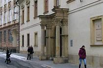 Budova rektorátu Univerzity Palackého v Olomouzci