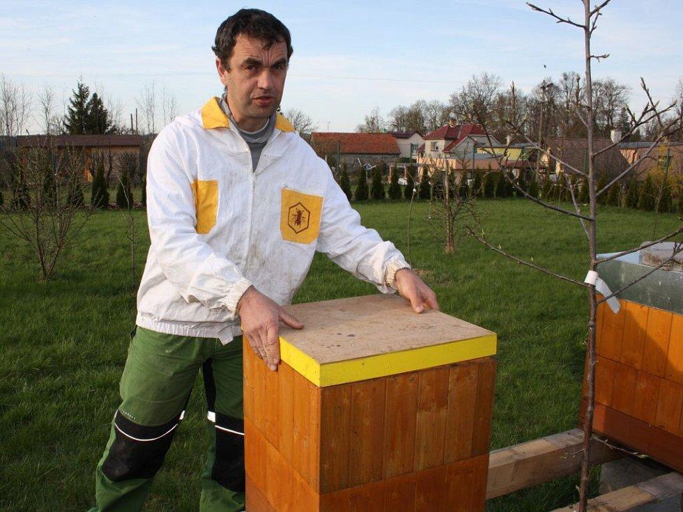Jaroslav Juráň, včelař ze Skaličky na Hranicku