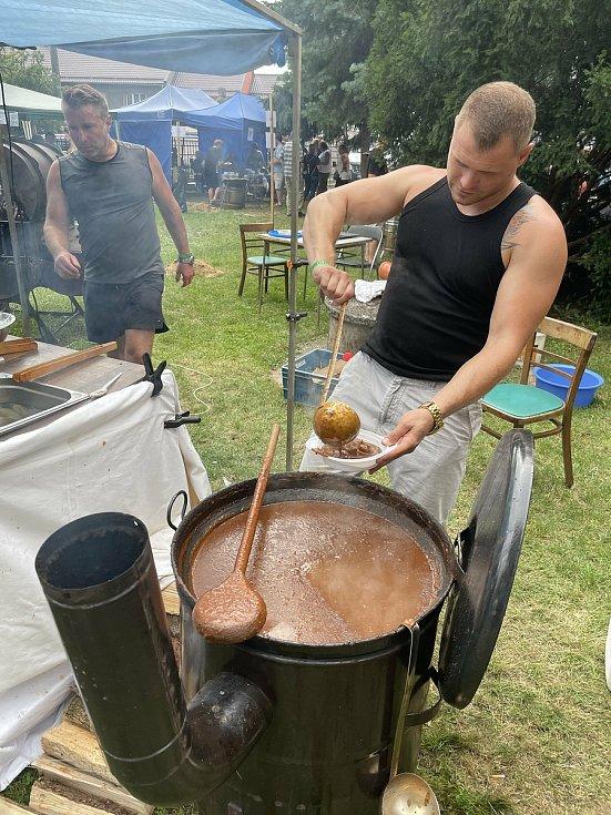Pivní a gulášové slavnosti Velký Týnec, 17. července 2021