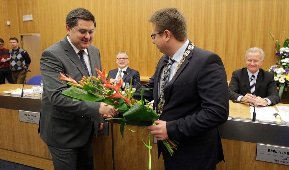 Olomouc má nového primátora. Martina Novotného (ODS) nahradil jeho spolustraník a dosavadní náměstek Martin Major.