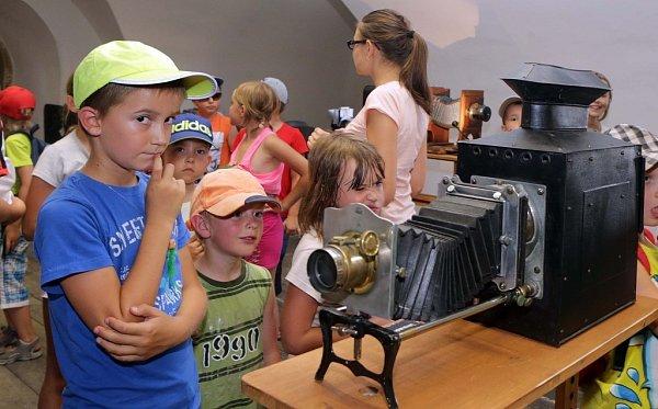 Interaktivní výstava ovývoji kinematografie na fortu vKřelově