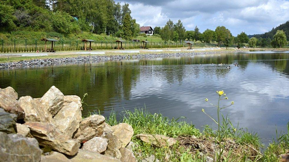 Areál Čertovy rybníky nedaleko Konice, červne 2021