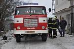 Požár v Drahanovicích, 1. ledna 2011