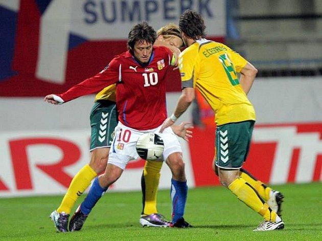 Kvalifikace na Euro 2012 v Olomouci: Česko vs. Litva 0:1