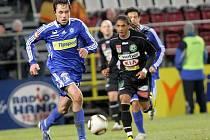 Michal Ordoš u míče