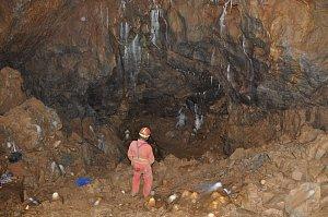 Svatováclavský dóm v jeskyni Za Hájovnou v Javoříčku
