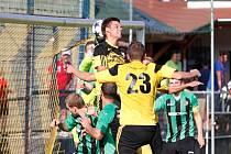 Nové Sady (ve žlutém) proti Petřkovicím