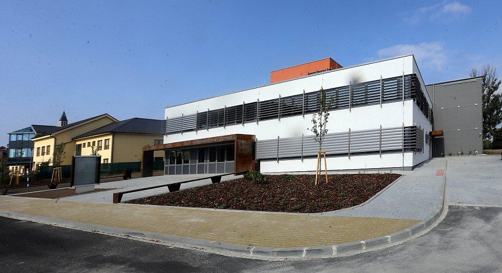 Nový depozitář olomoucké Vědecké knihovny v Hejčíně