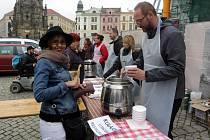 """Akce Dobrého místa pro život """"Den lidí bez domova""""."""