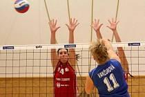 Volejbalistky Šternberka proti Olympu