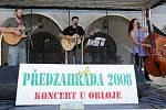 Kapela Epidemie z Jihlavy na Předzahradě na olomouckém Horním náměstí
