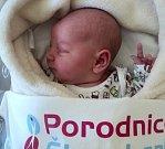 Sofie Pyszková, Rýmařov narozena 26. března, míra 49 cm, váha 3060 g