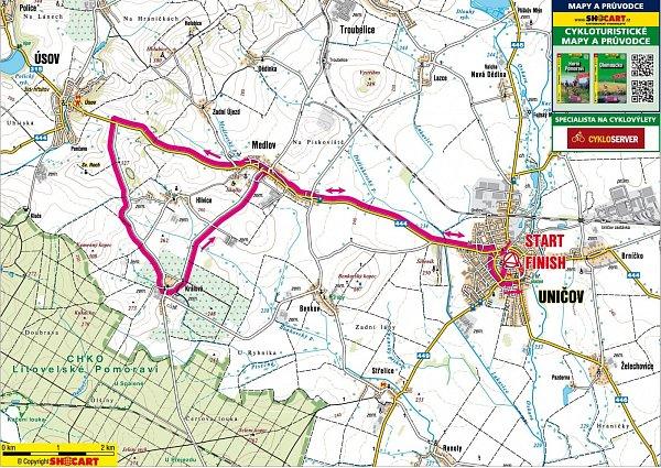 1. etapa Czech Cycling Tour 2013