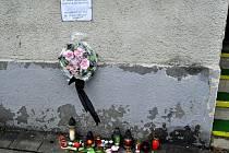 Pieta po tragické střelbě u baru Lumír