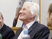 Beseda s Karlem Brücknerem v Olomouci