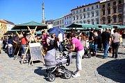 DED v Olomouci - jarmark a trh na Dolním náměstí