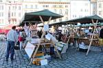 Farmářský trh na Horním náměstí v Olomouci