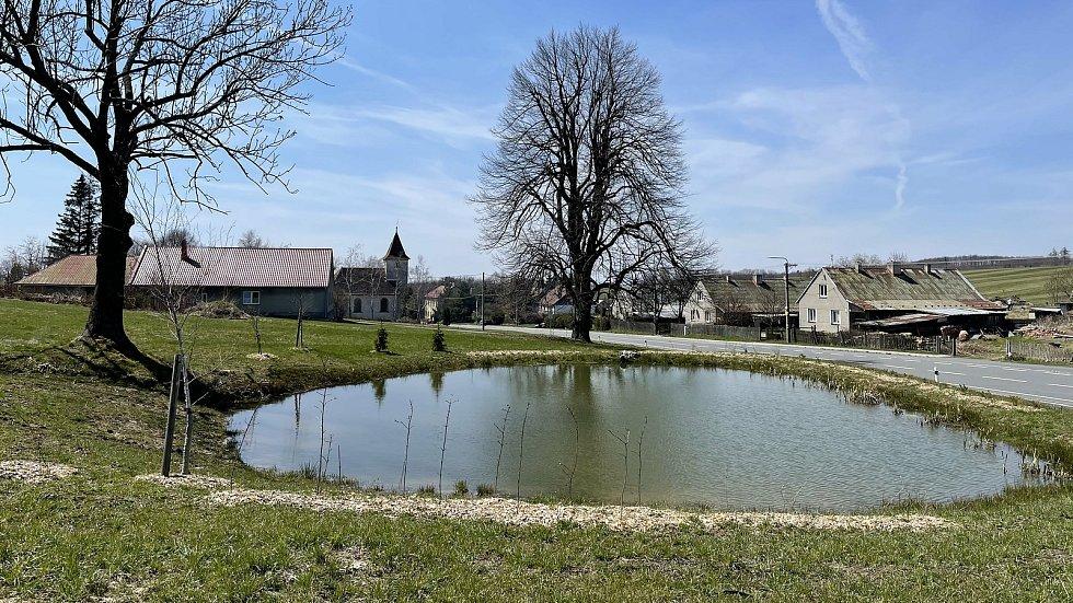 Obec Kozlov, duben 2021