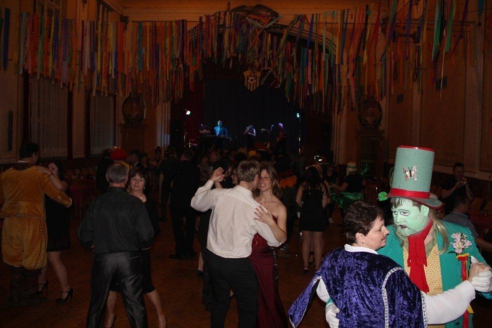 Maškarní ples v Dolanech na Olomoucku