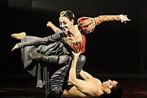 Renata Mrózková v inscenaci Moravského divadla Královna Margot