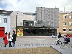 Vizualizace proměny Našeho kina ve Šternberku