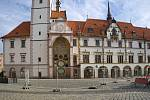 Olomoucký orloj je kvůli opravám radnice za plotem