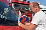 Truck and Van Show 2020. Žádost o roku v podání profesionálního řidiče v olomouckém kempu Krásná Morava, 25. 7. 2020