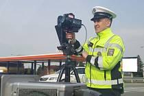 Speed maraton - policejní akce zaměřená na dodržování předepsané rychlosti v Olomouckém kraji