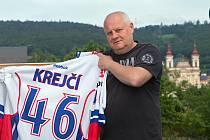 Otec hokejového reprezentanta Davida Krejčího