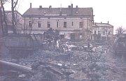 ZA VYSOKOU ZDÍ. Areál bývalých štěpánovských železáren na archivním snímku.