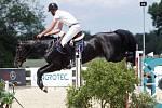 Balazs Horvath. Světový pohár CSI*** Olomouc. Závody pro šestileté a sedmileté koně.