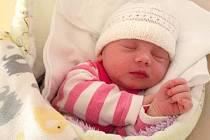 Laura Rýparová, Majetín narozena 31. října míra 52 cm, váha 3260 g