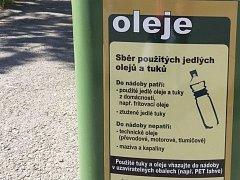 Ve Šternberku rozšířili sběr tuků a olejů z domácností