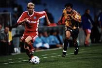 Olomoučtí fotbalisté remizovali v roce 1998 v Poháru UEFA doma s Olympiquem Marseille 2:2. Marek Heinz
