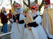 Průvod Ježíšových Matiček z Bělkovic do Dolan