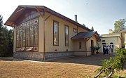 Opravená historická oranžérie ve Smetanových sadech v Olomouci