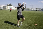 Olomoučtí hokejisté zahájili suchou část letní přípravyMartin Vyrůbalík