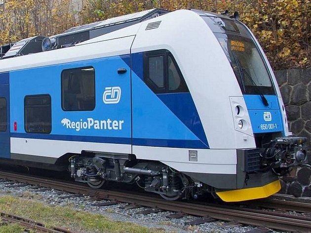 Nové vlaky Českých drah RegioPanter