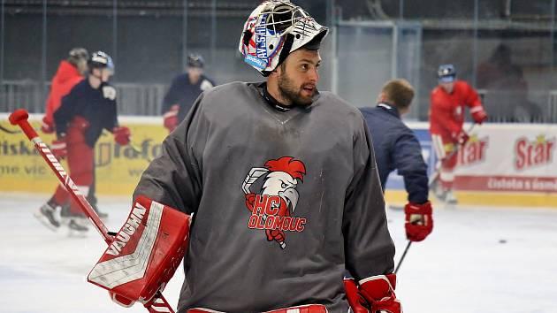 Hokejisté Olomouce využívají v těchto dnech ledovou plochu v Šumperku
