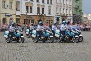 Vojenská hudba zněla v sobotu 1. září centrem Olomouce. Na Horním náměstí, před tamní radnicí, pokračoval XXIV. Mezinárodní festival vojenských hudeb.